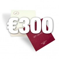 Gift certificate - pay €200, get €300