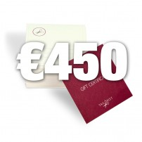 Gift certificate - Pay €300, get €450