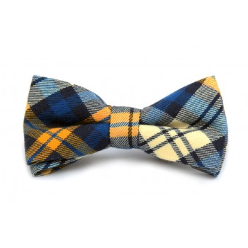 The Swedish Plaid Bow Tie