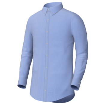 Blue Oxford Cloth Button Down