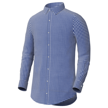 The Blue Gingham