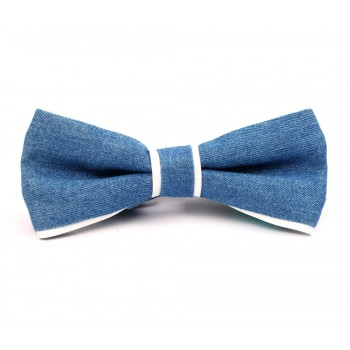 The Denim Bow Tie
