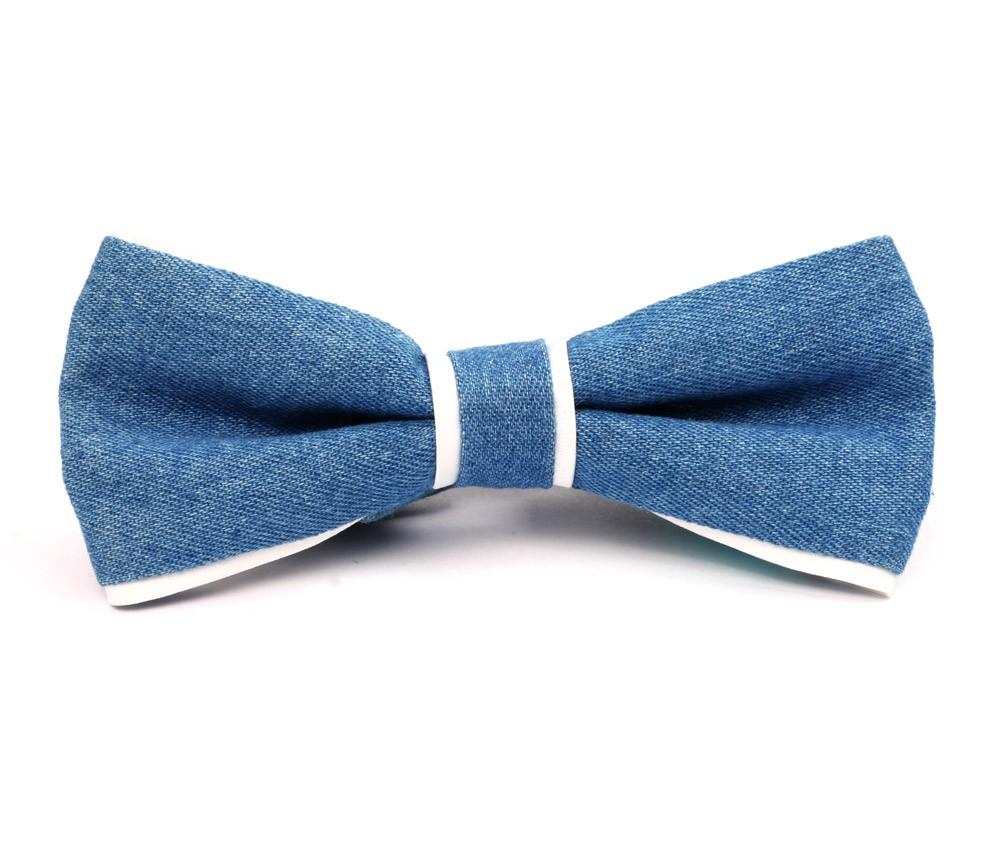 the denim bow tie tailorist