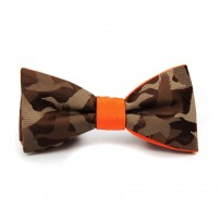 Camouflage Pattern Bow Tie
