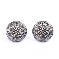 Ancient Flower Cufflinks