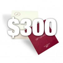 Gift certificate - pay $200, get $300