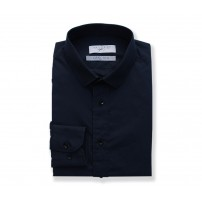Canclini Midnight Blue Plain shirt