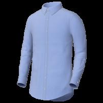 Blue Oxford Cloth Button Down