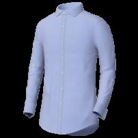 Blue business shirt