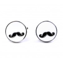 The Moustache Cufflinks