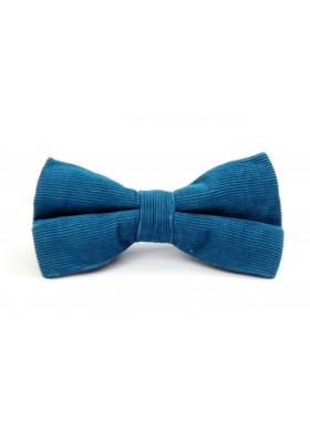 Turquoise Corduroy Bow Tie