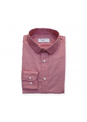 Canclini Red Chambray Shirt