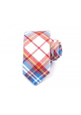 Summer Plaid Cotton Tie