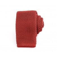 Smal orange stickad slips