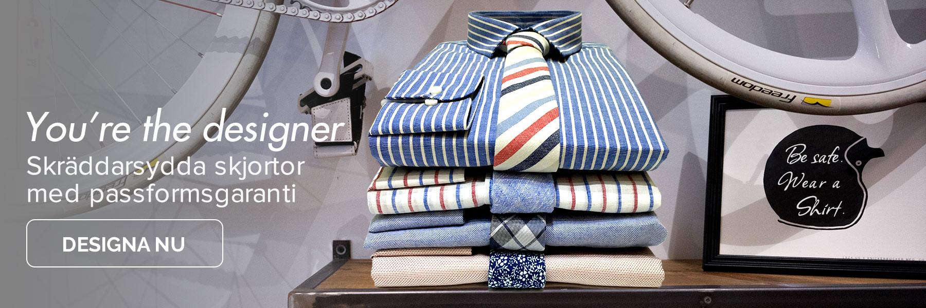 Designa din egen skräddarsydda skjorta